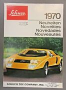 Scarce 1970 Schuco Toy Catalog Cars Airplanes Diecast Windup Battery Operated