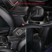 Universal Car Usb Charge Armrest Pad Cover Auto Center Console Box Cushion Mat