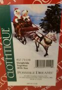 Department 56, Possible Dreams, Clothtique, Sleighride Together With You Nib