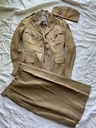 Original Wwii Wadc Womens Ambulance Corp Uniform Group Named