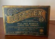 Antique Dust-tex Tin Car And Household Use Excellent Condition
