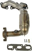 Exhaust Manifold With Integrated Catalytic Converter Front Dorman 673-831