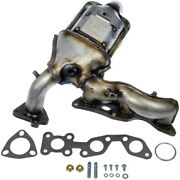 Exhaust Manifold With Integrated Catalytic Converter Front Fits 99-02 Villager