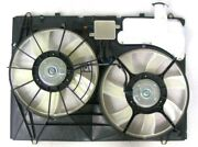 Dual Radiator And Condenser Fan Assembly-fan Assembly Fits 2007 Toyota Sienna