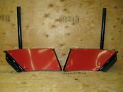 Boss Snow Plow Blade Wing Extension Kit Oem Msc08042b Without Wing Cutting Edges