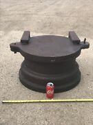 Cast Iron Shear Gate Valve Hinged Neenah Wi Opens/closes Firepit Vault Planter