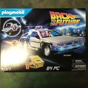 Playmobil Back To The Future Delorean Play Item Toy Kids New 64 Pcs. 70317