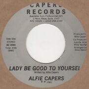 Alfie Capers Lady Be Good To Yourself Capers Soul Northern Motown