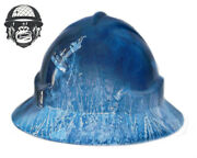 Hydrographic Mining Safety Hard Hat Construction Industrial Frosty Wide