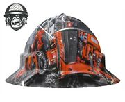 Hydrographic Mining Safety Hard Hat Construction Industrial Jumbo Machinery Wide