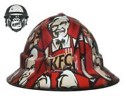 Custom Hydrographic Mining Safety Hard Hat Construction Industrial Kfc Wide