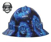 Hydrographic Mining Safety Hard Hat Construction Industrial King Of Fire Wide