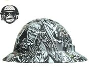 Hydrographic Mining Safety Hard Hat Construction Industrial Commercial Lips Wide