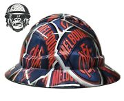 Hydrographic Mining Safety Hard Hat Construction Industrial Melbourne Fc Wide