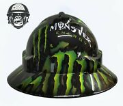 Hydrographic Mining Safety Hard Hat Construction Industrial Monster Wide