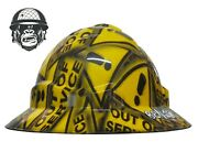 Hydrographic Mining Safety Hard Hat Construction Industrial Out Of Service Wide
