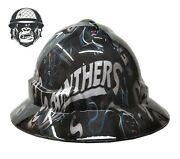 Hydrographic Mining Safety Hard Hat Construction Industrial Panthers Wide