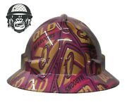 Hydrographic Mining Safety Hard Hat Construction Industrial Qld Maroons Wide