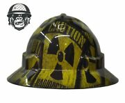 Hydrographic Mining Safety Hard Hat Construction Industrial Radioactive Wide