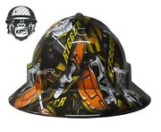 Hydrographic Mining Safety Hard Hat Construction Industrial Rigger Wide