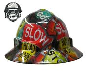 Hydrographic Mining Safety Hard Hat Construction Industrial Roadworks Wide