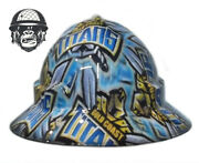 Hydrographic Mining Safety Hard Hat Construction Industrial Titans Wide