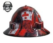 Hydrographic Mining Safety Hard Hat Construction Industrial Tribal Tonga Wide