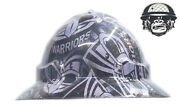Hydrographic Mining Safety Hard Hat Construction Industrial Warriors Wide