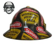 Hydrographic Mining Safety Hard Hat Construction Industrial Working Heights Wide