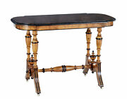 Late 19th Century Aesthetic Movement Walnut Occasional Table