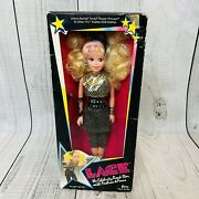New Vtg 1980s Creata Lace The Celebrity Rock Star Doll With Fashion And Fame 1681