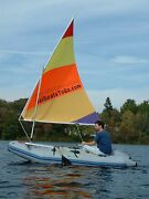 Sail Kit For Inflatable Tenders Dinghy Zodiac And Other Hard Transom Boats