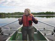 Row Outriggers For Canoe With Oars And Seat Included -- Rowing Beats Paddling