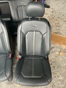 2015-2020 Ford F-150 F-250 F-350 Platinum Leather Heated/cooled Seats And Console