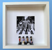 The Beatles Abbey Road Minifigure Frame Father's Day Gift Free 'jeremy' Key Ring