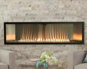 Empire Boulevard 48 Vent-free Linear Fireplace Vflb48fp90 W/ Thermostat Remote