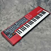 Clavia Nord Lead 4 Analog Synthesizer Keyboard With Gig Bag Manual Adapter Used