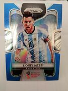 Panini Prizm World Cup Soccer 2018 Lionel Messi - Blue - Goat Hot Invest