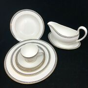 Wedgwood Ulander China Suite 16 Place Settings With Service Pieces