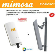 Mimosa A5c 5ghz Outdoor Gigabit Ap 11ac + Sector Antenna 20dbi + Cable 2m