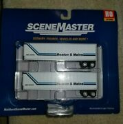 Ho Walthers Scenemaster 949-2502 40' Trailer 2-pack - Boston And Maine