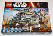 Lego Star Wars 75157 Captain Rexand039s At-te 972 Pcs 100 Complete