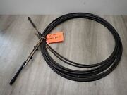 Used Teleflex Mercury Outboard Control Cable Gen I 23 Ft Pair