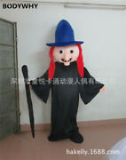 2020 Old Witch Mascot Costume Suits Cosplay Party Game Dress Outfits Clothing Ad