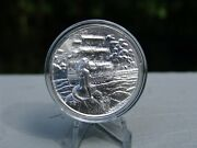 Siren 2 Oz .999 Silver Ultra High Relief Round - The Privateer Series
