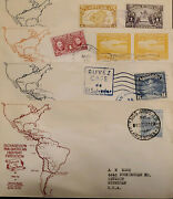 L 1940 Costa Rica, Richardson Pan-american Highway Expedition, Map, Buvez Coffe