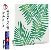 Tropical Palm Wallpaper Peel And Stick Removable Contact Paper Selfadhesive Vinyl