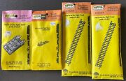 Atlas N Scale 1 Switch Control Box, 2 Bumpers, 2 Packs Of Straight Track