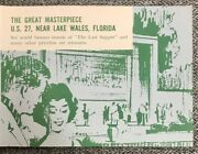 1964 Great Masterpiece Lake Wales Florida Discount Admission Ticket Advertising
