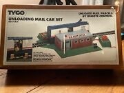 Tyco 920 Unloading Mail Car Set Ho Scale New Sealed Vintage Us Post Office